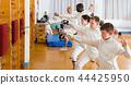 boys, gym, stance 44425950