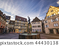 Colmar France, Colorful Half Timber House skyline 44430138