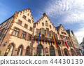 Frankfurt Germany, skyline at Romer Town Square 44430139
