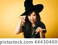萬聖節女巫角色扮演日語 44430400