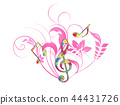 music, musical, g-clef 44431726
