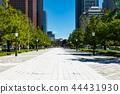 (도쿄 - 도시 풍경) 오오 테마 광장에서 볼 마루 노우치 빌딩 풍경 2 44431930