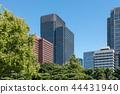 (도쿄 - 도시 풍경) 우치 보리 거리 측에서 원하는 마루 노우치 오피스 빌딩 17 44431940