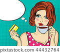 woman coffee drink 44432764