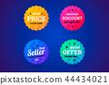 discount, badge, sticker 44434021
