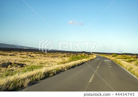 hawaii, a volcano, hawaiian islands 44434743
