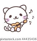 기타 치는 고양이 44435436