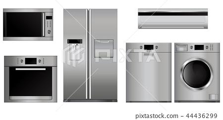 Home appliances set 44436299