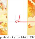 日日风格 - 日本图案 - 背景 - 日本纸 - 秋 - 秋叶 - 金 - 水 -   -  Noji纸 44436397