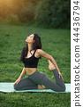 yoga,stretching,exercise 44436794