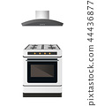 stove, modern, oven 44436877