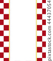 Japanese Paper-Japanese-Japanese Style-Japanese Pattern-Checkered Pattern-Red and White-Noji Paper 44437054