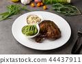 grilled chicken drumstick steak 44437911