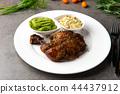 grilled chicken drumstick steak 44437912