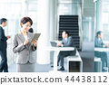 แท็บเล็ตดิจิตอล,ธุรกิจ,ภาพวาดมือ ธุรกิจ 44438112