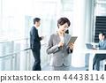 แท็บเล็ตดิจิตอล,ธุรกิจ,ภาพวาดมือ ธุรกิจ 44438114