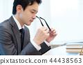 นักธุรกิจ,ธุรกิจ,ภาพวาดมือ ธุรกิจ 44438563