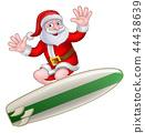 圣诞老人 圣诞老公公 圣诞节 44438639
