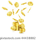 coin gold golden 44438882