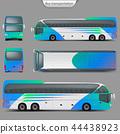 coach bus mockup 44438923