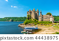 The Chateau de Val, a medieval castle on a bank of the Dordogne in France 44438975