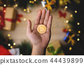 Bitcoin For Christmas Present Concept 44439899