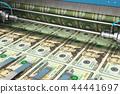 Printing 20 US dollar USD money banknotes 44441697
