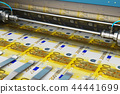 Printing 200 Euro money banknotes 44441699