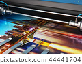 Printing photo banner large format color plotter 44441704