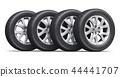 Set of car wheels 44441707