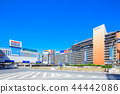 东京新宿站西口站正面图 44442086