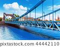 Grunwald Bridge in Wroclaw, Poland 44442110