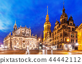 Old Town architecture in Dresden, Germany 44442112
