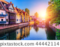 Sunset in the Old Town of Nurnberg, Germany 44442114