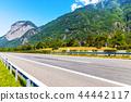 Autobahn highway in Switzerland 44442117