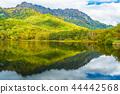 거울 호수, 단풍, 비침 44442568