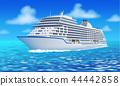 ship, sea, boat 44442858