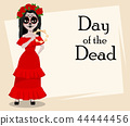 Day of the Dead traditional holiday 44444456