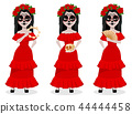 Day of the Dead traditional holiday 44444458