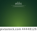 Abstract of gradient green background. 44448126