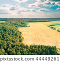 Aerial drone view of the countryside 44449261