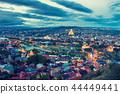 Beautiful evening panoramic view of Tbilisi 44449441