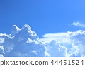 blue sky, cloud, clouds 44451524