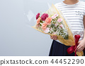 花束 诗句 女孩 44452290