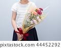 花束 诗句 女孩 44452292