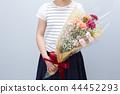 花束 诗句 女孩 44452293