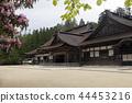kongobu-ji temple, nave, main temple building 44453216