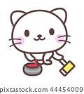 冰壺貓 44454009