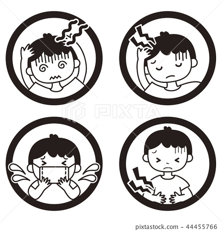 症狀 圖標 Icon 44455766