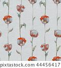 花香 花瓣 无缝的 44456417
